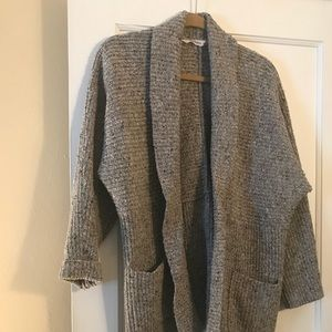 Athleta wool cardigan